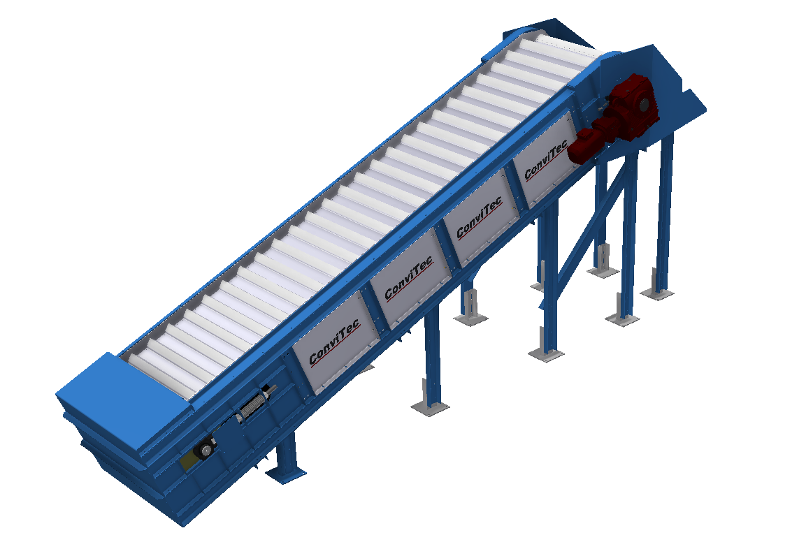 Steel plate conveyors