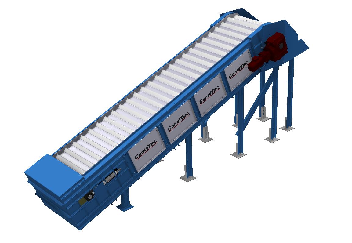 Steel plate conveyors
